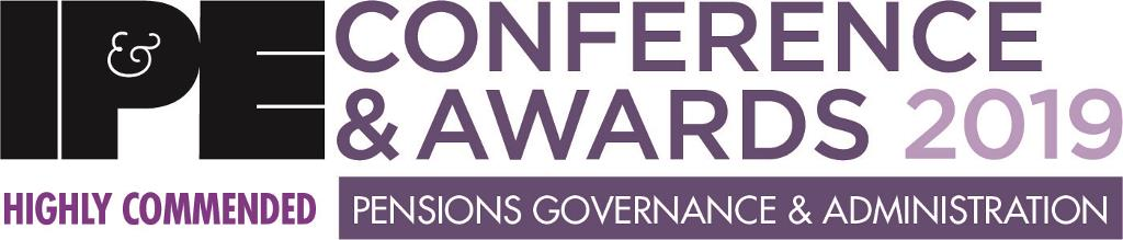 IPE Awards 2019 (Pensions Governance and Administration) - Highly Commended