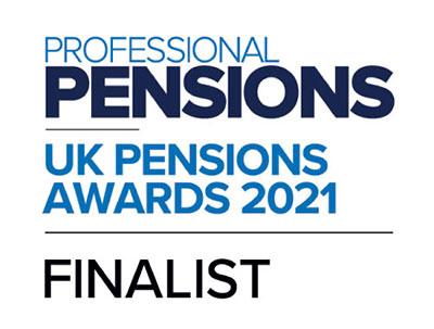UK Pensions Awards 2021 - Finalist