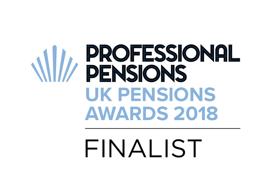 UK Pensions Awards 2018 - Sponsor Covenant Provider Finalist & DB Investment Innovation