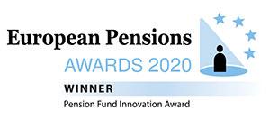 European Pensions Awards 2020 (Pension Fund Innovation Award) - Winner