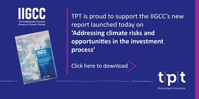 TPT supports launch of climate change guide